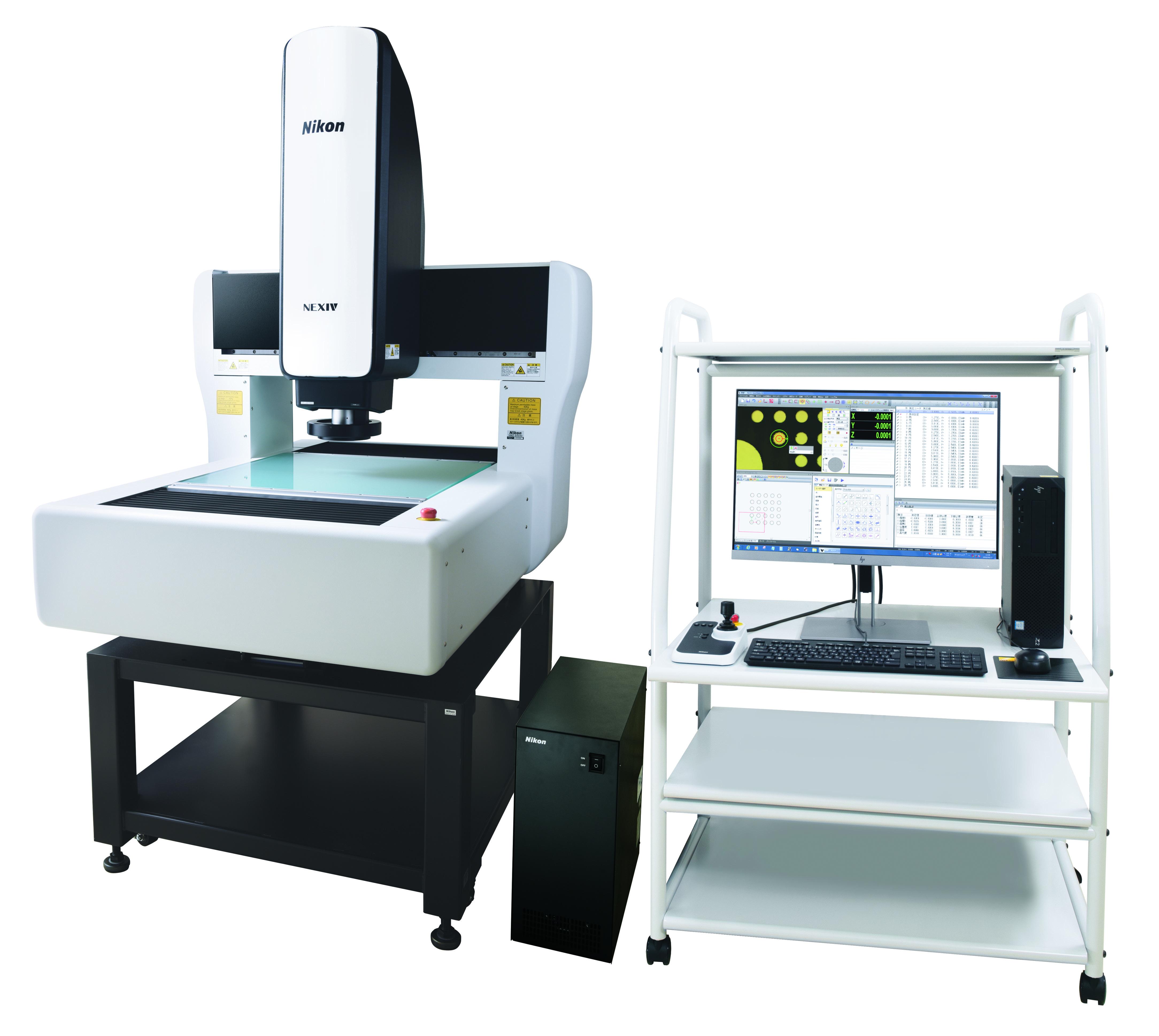 CNC画像測定システムNEXIVによる寸法測定の自動化