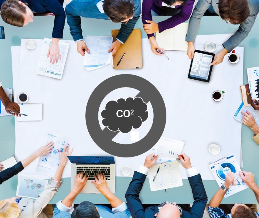 換気を促すIoTシステム「CO2センサーによる3密対策」